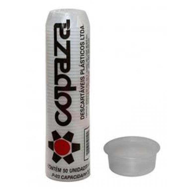 COPAZA - POTE (P-100) 100 ML TRANSPARENTE - CX.30X100UN