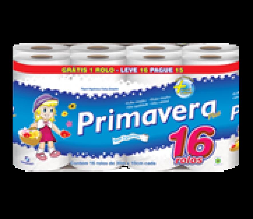 MANIKRAFT - PAPEL HIGIENICO PRIMAVERA PLUS 30M LEVE 16 PAGUE 15 - PT.16UN